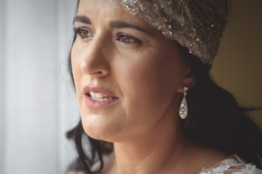 tocado de novia con pedreria
