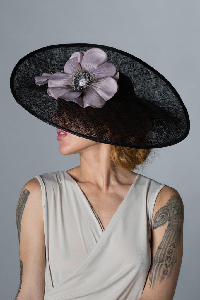 tocadosoh pamela negra de flores con mucho estilo