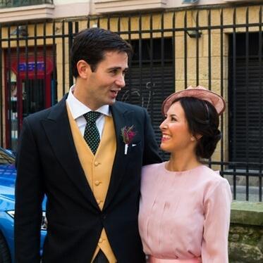 boda en donosti tocado