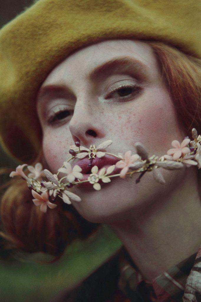 Editorial de tocados oh por la fotografa Alisa Andrei