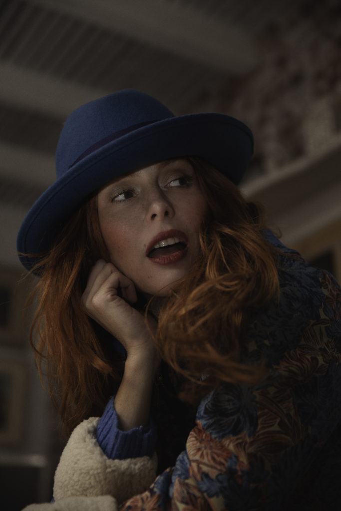 sombrero tocadosoh azul