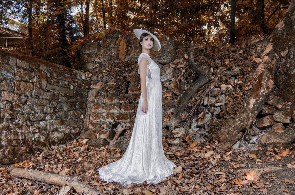 pamela de boda de novia
